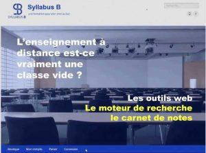 Écran d'accueil vidéo Cours de statistique